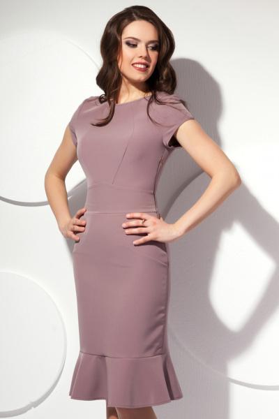 Платье элегантной расцветки П-425/1